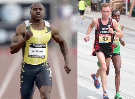 Брзи мускулни влакна (спринтер) vs спори мускулни влакна (маратонец)